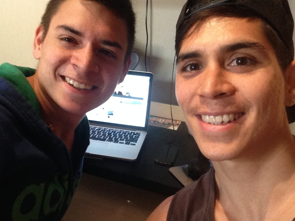 Gerard and Chris
